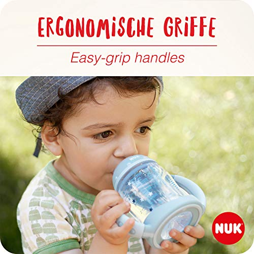 NUK 10215220 Disney Winnie First Choice Trinklernflasche aus PP 150ml, mit Soft-Trinktülle aus Silikon, BPA frei, ab 6 Monate, grün - 3