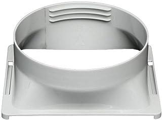Zihui Adaptador De Manguera De Escape De Aire Acondicionado Portátil 15CM / 5.91in Adaptador De Panel De Soporte De Ventana De Repuesto para Conector De Tubería De Aire Acondicionado Portátil
