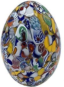 Scultura Collection Huevos Murrina Veneciana Cristal de Murano Made in Italy