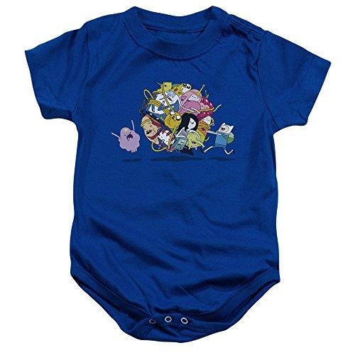 Adventure Time - - Onesie Glob Ball pour Tout-Petit, 6 Months, Royal Blue