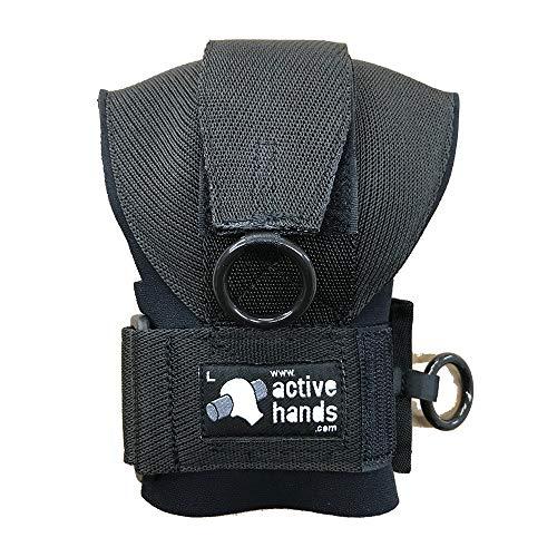 アクティブハンズ[Active hands ]パワーグリップ グリップエイド 左手用車椅子 握力 障害 軽減 手が不自由 補助具 トレーニング 理学療法 作業療法 学習 遊び (large)