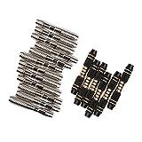 Homyl 18 Pcs de Barriles de Dardos para Lanzamiento de Vuelos de Dardos Accesorio de Deportes Interior