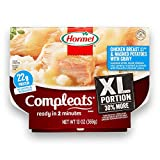 Hormel COMPLEATS XL Chicken Breast & Mashed Potatoes with Gravy, 13 Ounce (Pack of 5)