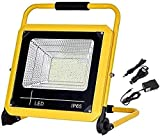 N/Z Home Equipment Work Light 150W 1500LM LED Floodlight Rechargeable | IP65 Waterproof Work Light with 5 Light Modes Dimmable For Outdoor Camping Emergency Lighting