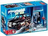 Playmobil- Thief with Safe and Getaway Car Ladrón de Caja Fuerte con...