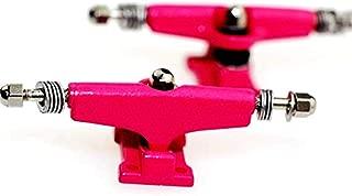 SOLDIER BAR Fan Team Fingerboards Parts Trucks (Pink, PRO 34mm)
