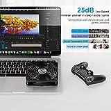 ELUTENG 120mm USB Lüfter mit L/M/H 3 Geschwindigkeit PC USB Ventilator Leise Gehäuselüfter 5V Lüfter Radiator Compatibel für Computer/PS4 /TV Box/AV Schrank/Router 12cm MEHRWEG