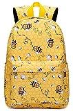 BLUBOON Preschool Backpack for Girls Kids Backpack for Little Girls Kindergarten Backpack Elementary Child's Bookbags (Yellow)