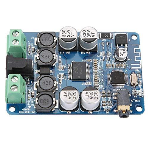 TDA7492P 2x25W Bluetooth V2.1 Placa de Amplificador de Potencia de Audio Con Interfaz Aux Hf63 Altavoz Sistema de Sonido