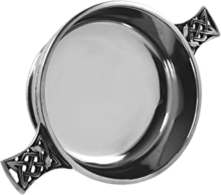 English Pewter Company Celtic Pewter Quaich Bowl Loving Cup Large [PQ503]