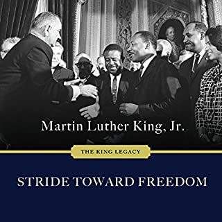 Stride Toward Freedom: The Montgomery Story audiobook cover art