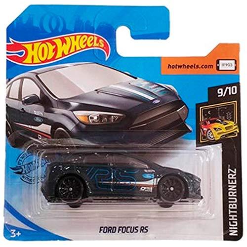 Hot-Wheels Ford Focus RS Nightburnerz 139/250 2019 Short Card
