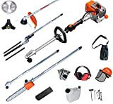 Best Gas Powered String Trimmers - PROYAMA 27CC Multi Function 5 in 1 Pole Review