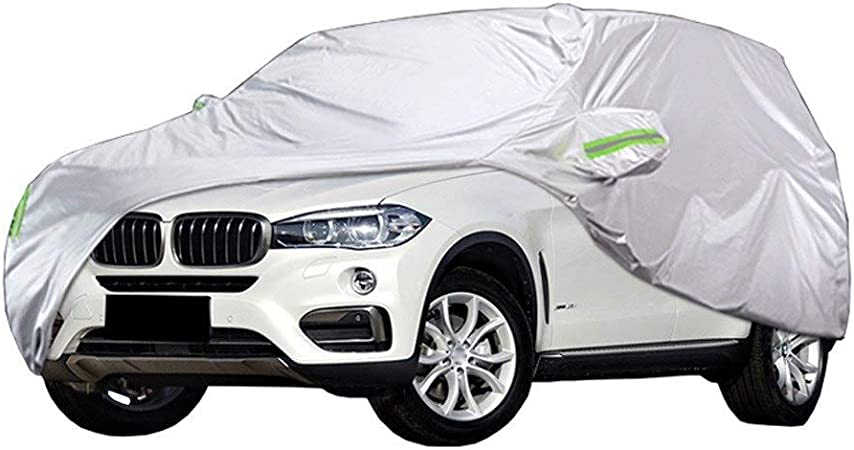 Car Cover Compatible With Bmw X4 X6 Protective Cover Indoor And Outdoor Waterproof Sun Protection Anti Uv All Weather Car Covers With Cotton Zip Tarpaulin Amazon De Auto