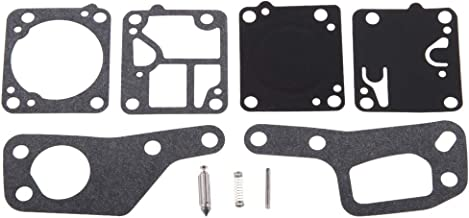 Flameer Carburetor Rebuild Gaskets Kit for McCulloch Mac 110 120 130 140 Chainsaw Parts
