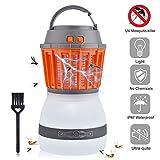 AUSHEN LED Bug Zapper, mosquito killer, zanzariera trappola lampada con aspirazione elettrica con...