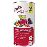 Raab Vitalfood Bio Superfood-Mischung rot für Smoothies, Beeren- und Wurzelmischung mit Vitamin C und Ballaststoffen, vegan, glutenfrei, 220 g
