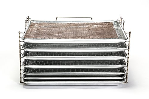 Bull Rack - BR6 Ultimate Package - Grill Tray System - Grill, Smoke, Dry and Cure Meats and Vegetables - Grilling Rack and Tray