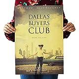 Kemeinuo Deko Wand Bild Film The Dallas Buyers Club Poster