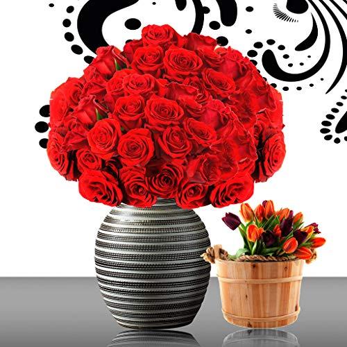 Adultos Rompecabezas 500 Piezas Tulipán Flor Rosa Juguete De Regalo Ideal La Mejor Decoración Para El Hogar De Bricolaje 87x57cm