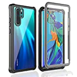 Owkey Huawei P30 Pro Case, Full Body Protection Rugged Case