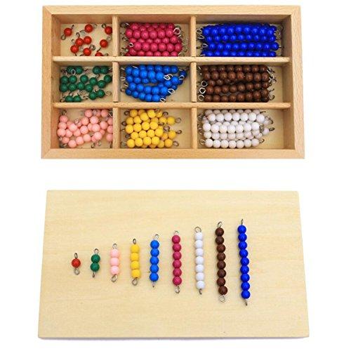 New Sky Enterprises Montessori Checker Board Beads Early Development Mathematics