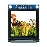 Xinwoer Módulo de Pantalla OLED, Módulo de Pantalla a Color OLED de 1,5 Pulgadas 128 * 128 SSD135 Interfaz periférica en Serie, Tiempo de Respuesta más rápido