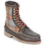 Timberland Authentics 8 In Rugged Handsewn F/l Boot Botines/Low Boots Hombres Marrón/Fieltro - 43 - Botas De Caña Baja Shoes