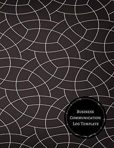 Business Communication Log Template: Manager Communication Log