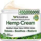 Best Anti Inflammatory Creams - Ramina Natural Hеmp Extract Cream - Made in Review