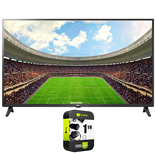 LG 43UN7300PUF 43' UHD 4K HDR AI, Smart TV 2020, paquete con 1 año de protección extendida
