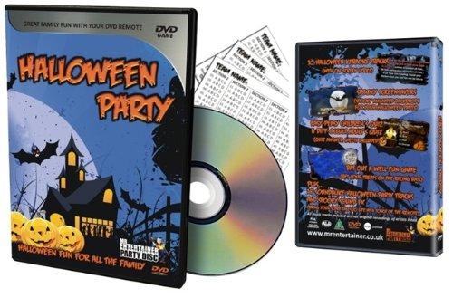 Mr Entertainer DVD Party Halloween - Disco de karaoke para reproductores de DVD
