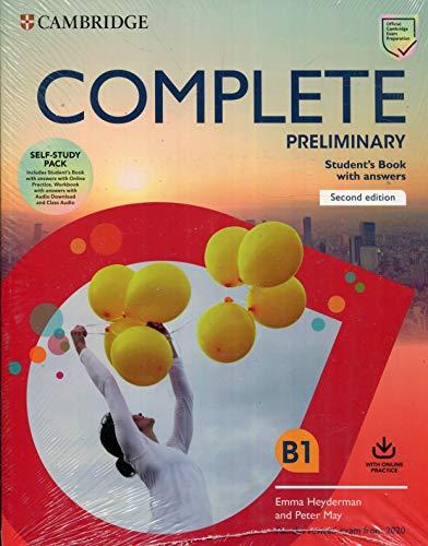 Complete preliminary. For the revised exam from 2020. Self study pack. Per le Scuole superiori. Con espansione online. Con File audio per il download