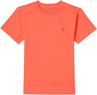 Tommy Hilfiger Boys' Short Sleeve Solid Crew-Neck T-Shirt