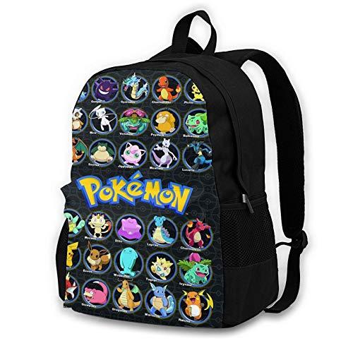 LinsSone Anime cartoon Backpack Schoolbag 3D printing Book Bag
