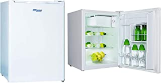 Super General 90 Liter Compact-Refrigerator/ Mini-Fridge/ White/ Child-Lock/ Defrost/ 64 x 44 x 51 cm/ SGR045H