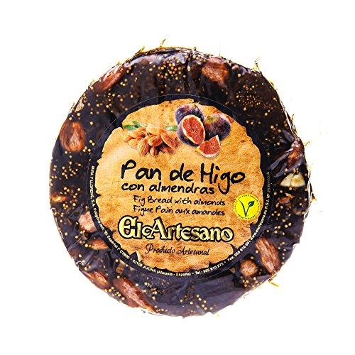 El Artesano Fig and Almond Bread Cake ' Pan de Higo con Almendras (7.05 Oz / 200 Gr)