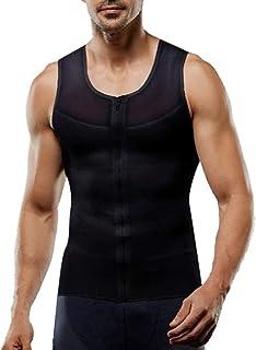 POQOQ Mens New Sports Cotton Top Sweat Breathable Shoulder Vest Blouse Top