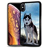 for Samsung Galaxy A10e, Durable Protective Soft Back Case Phone Cover, HOT12135 Husky Dog