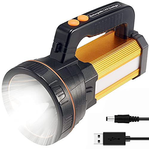Searchlight 7000 Luminus 8-24h Lighting Rechargeable Handheld Portable...