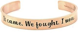 aneurysm survivor bracelet