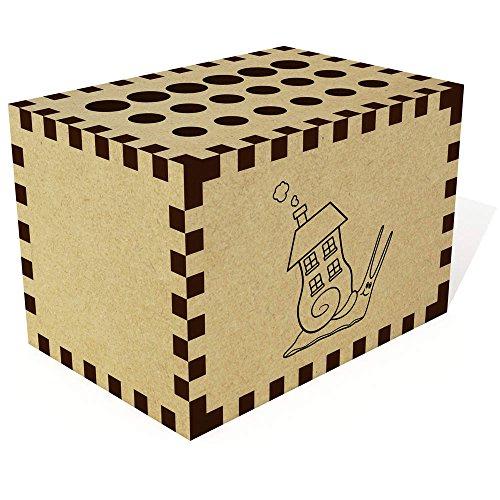 Azeeda 'Schneckenhaus' Bleistift Block / Halter (PB00014370)