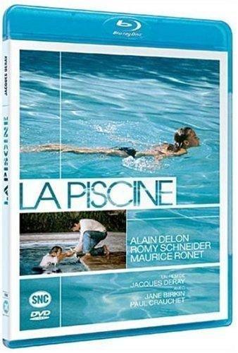 THE SWIMMING POOL(La Piscine) (1969) (REGION FREE BLU RAY with english version)