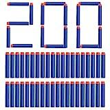Topways® 7,2 cm Recarga de Dardos Espuma Suave Dardos Recarga Bala Blasters para Nerf N-Strike...