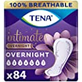 TENA Intimates Overnight Absorbency IncontinenceBladder Control Pad with Lie Down Protection Packaging May Vary, White, 84 Count by Johnson & Johnson - Ketotifen