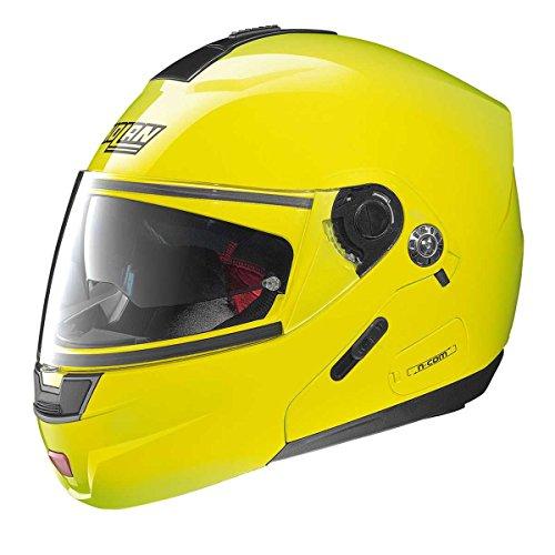 Nolan N91 Evo Hi-Visibility Klapphelm, Farbe gelb, Größe S (55/56)