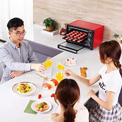 51dyqRcAdqL. SL500  - 30-Liter-Multifunktionsherd, Mini-Ofen-Funktionen, 1500W Leistung, leicht zu reinigendes Futter, Minute Timer, kann Pizza, Toast, Bagels, Pizza, gefrorene Snacks backen