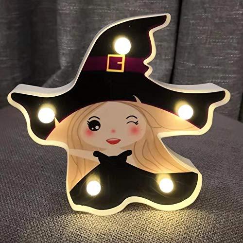 Geführte Halloween-Dekorationsstützen beleuchtet die Kürbislaterne, die Dämongeist-Schlägernachtlichthexe modelliert