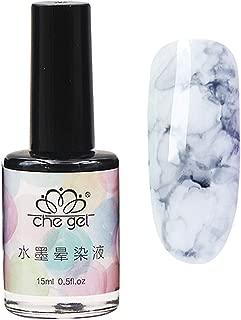 Blossom Nail Polish, Magic Blooming Gradient Color Nail Polish manicuring Kit Watercolor Ink Marble Nail Art Design (I)
