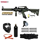 Tippmann Cronus Paintball Marker Gun -Tactical Edition- Olive Starter Package
